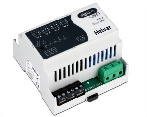 Helvar-4-Channel-Relay-Unit