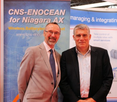 Mike Welch of CNS and Graham Turner of One Sightsolutions